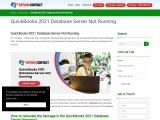 QuickBooks Desktop Download 2021 Database Server Not Running