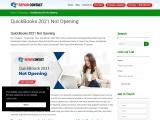 QuickBooks Desktop Pro 2021 Not Opening