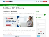 QuickBooks 2021 Not Printing Issues With Invoices
