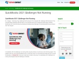 QuickBooks 2021 Won't Qbdbmgrn Not Running