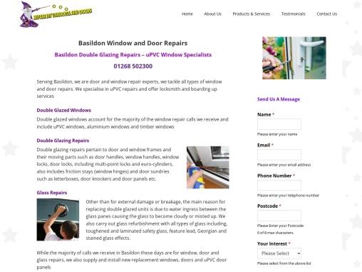 Basildon Window and Door Repairs