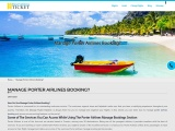 Manage Porter Airlines Booking?
