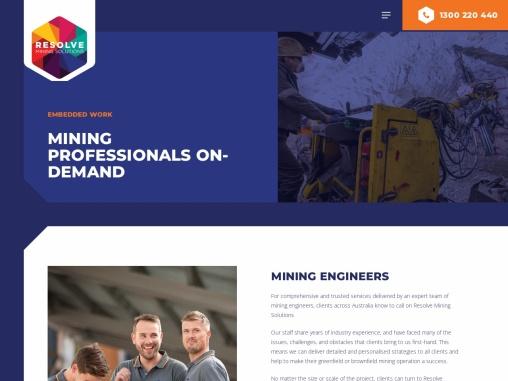 Get the Best Mining Engineers in Australia
