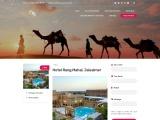 Wedding Venues in Jaisalmer   Hotel Rang Mahal Jaisalmer