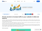 Increase Free Traffic to Your Website – Top Secret to Gain Website traffic