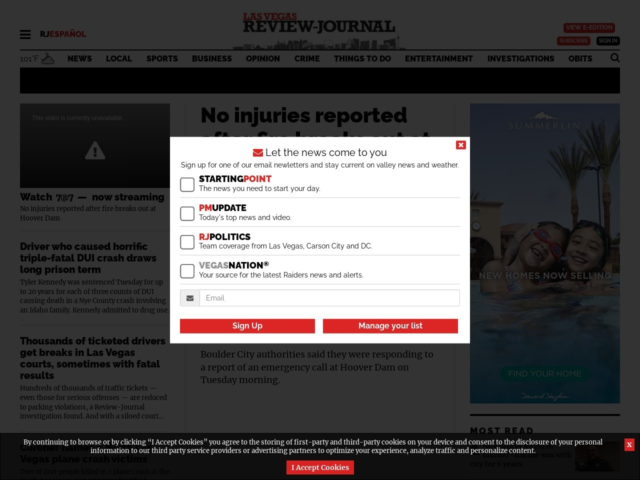 Planned Las Vegas Monorail funding update delayed