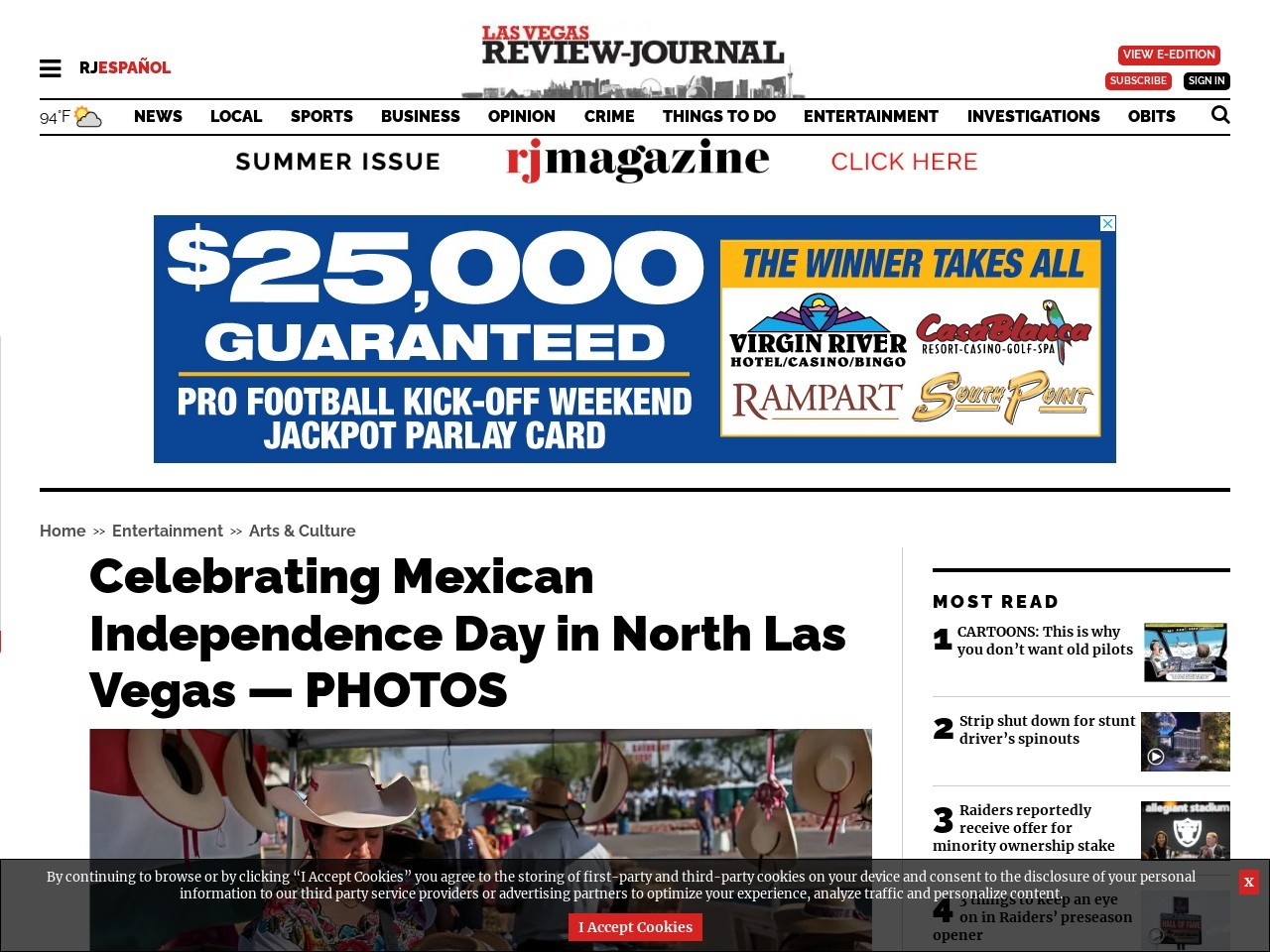 Celebrating Mexican Independence Day in North Las Vegas — PHOTOS