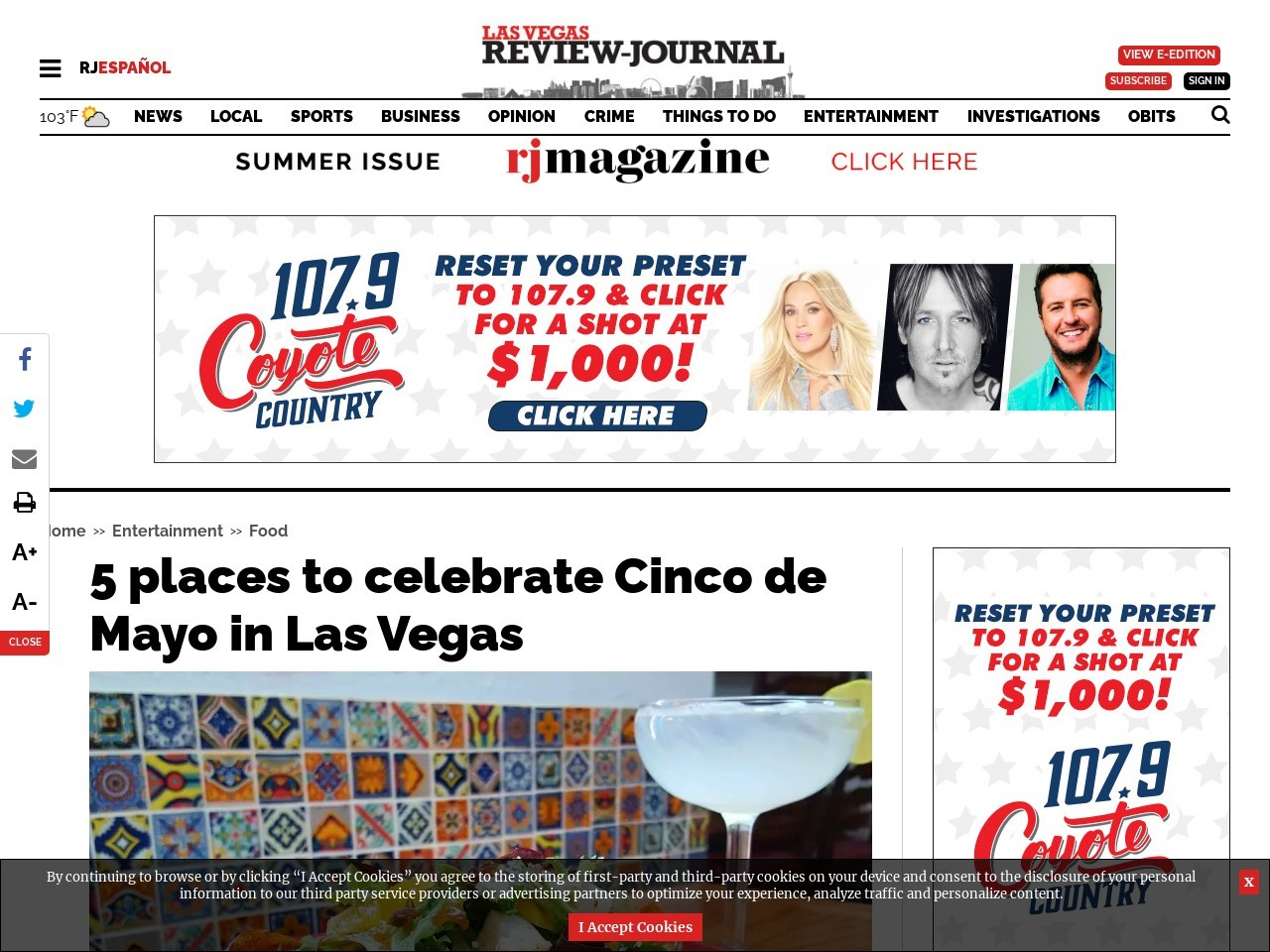 5 places to celebrate Cinco de Mayo in Las Vegas