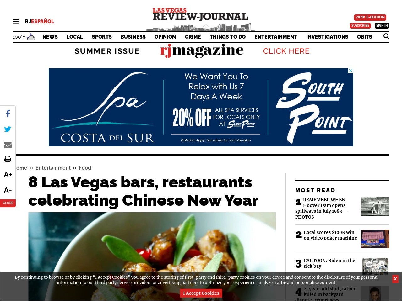 8 Las Vegas bars, restaurants celebrating Lunar New Year