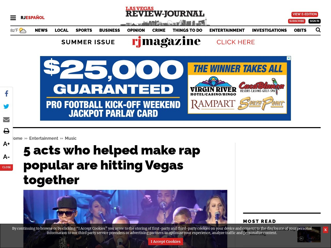 5 acts who helped make rap popular are hitting Vegas together