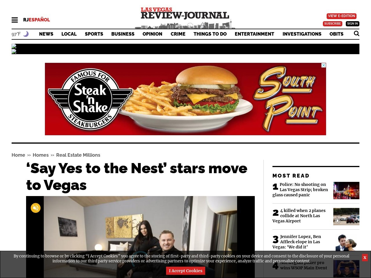 'Say Yes to the Nest' stars move to Vegas