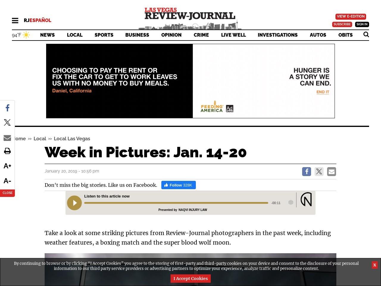 Week in Pictures: Jan. 14-20