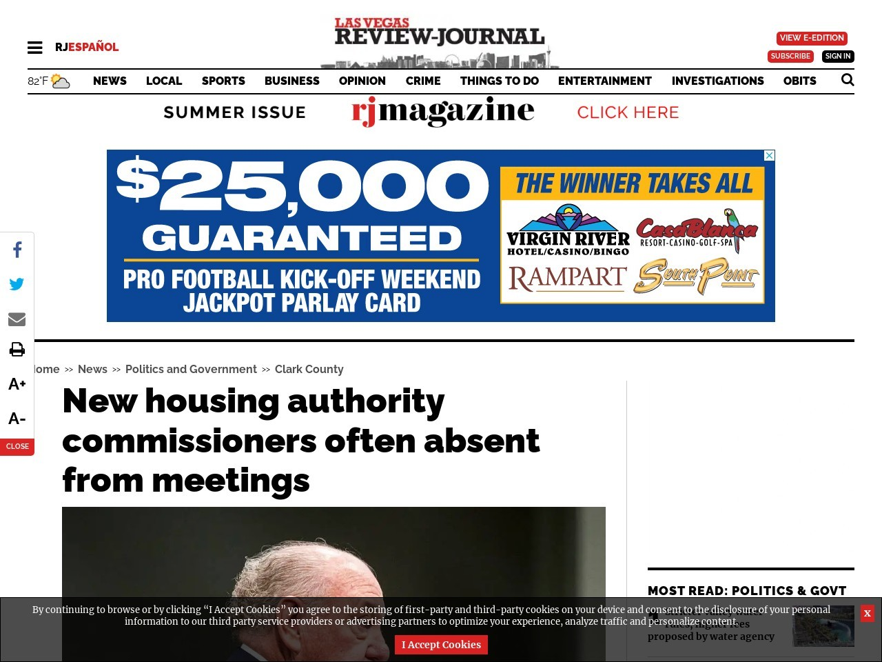 New housing authority commissioners often absent from meetings
