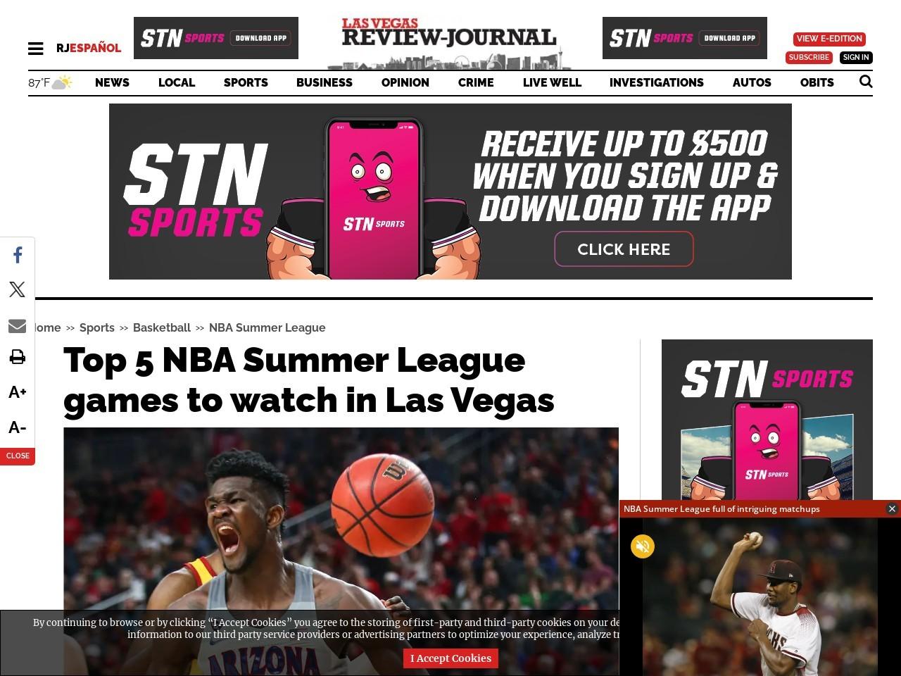 Top 5 NBA Summer League games to watch