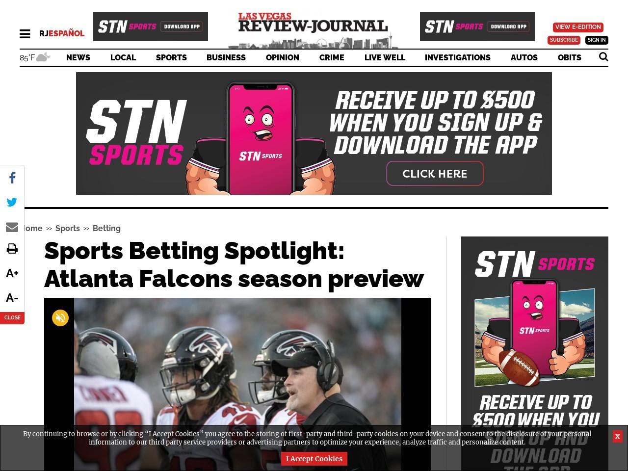 Sports Betting Spotlight: Atlanta Falcons season preview