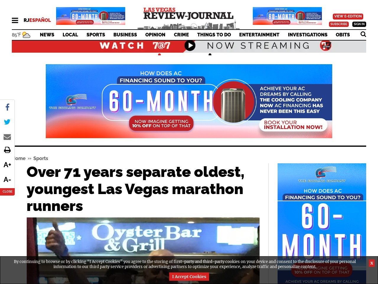More than 71 years separate oldest, youngest marathon participants