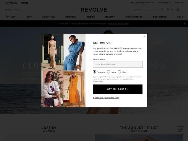 美國輕奢時尚電商 REVOLVE