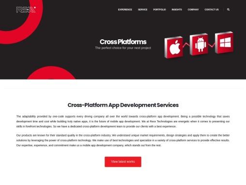 Best cross platform app development company in Trichy, Tamilnadu and India