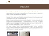 Industrial Flooring Acid Resistant & Long-Lasting | Ricron Panels