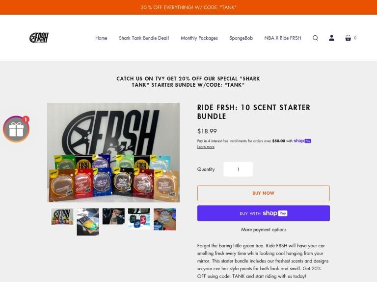 Ride FRSH screenshot