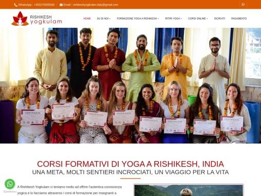 Scuola di Yoga in Italia | Yoga School in Italy