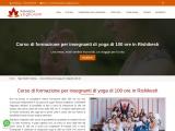 Corso di formazione per insegnanti di yoga di 100 ore in Rishikesh