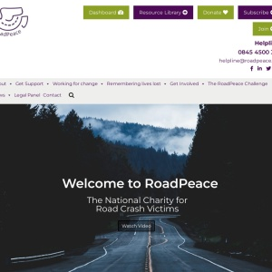 RoadPeace – The National Charity for Road Crash Victims