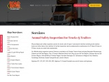 ANNUAL SAFETY INSPECTION FOR TRUCKS & TRAILERS IN CANADA