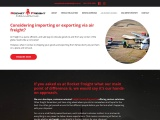 Air Freight Services NZ | RocketFreight International Shipping and Customs Brokerage
