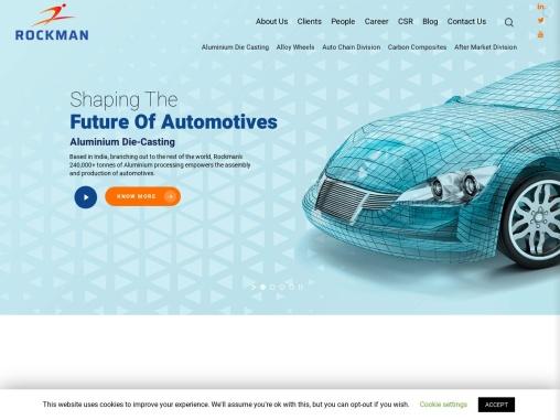 Aluminum die casting alloy wheels & Drive chain kits at Rockman industries