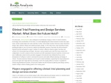Clinical Trial Planning and Design Services Market: What Does the Future Hold?