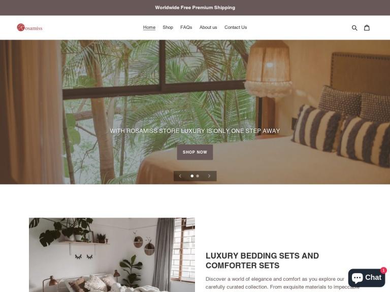 Rosamiss Store screenshot