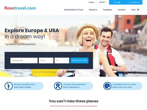 Rosotravel- Best Inbound Tour Operator in Europe