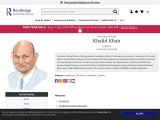 Professor Khalid Khan   Lead author
