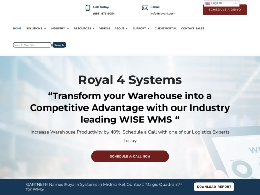Supply Chain Solutions – Royal 4 Systems