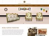 Hand carved Furniture | Handcrafted wood Furniture | Royal carving Furniture