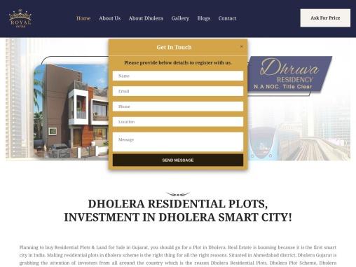 Plots / Land For Sale In Dholera, Gujarat | Dholera SIR Smart