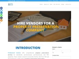 How to successfully hire vendors for a property preservation company?