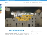 What are the challenges faced by the property preservation company?