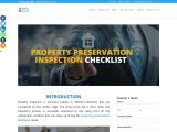 What to include in your property preservation inspection checklist?What to include in your property