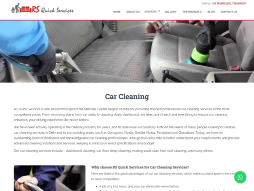 Best car cleaning service in Delhi NCR | car cleaning service in Delhi