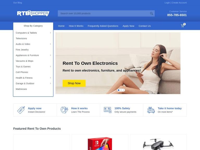 rtbshopper.com screenshot