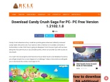 Candy Crush For PC Free Version 2021