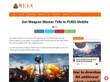 Get Weapon Master Title In PUBG Mobile
