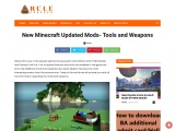 New Minecraft Updated Mods- Tools and Weapons