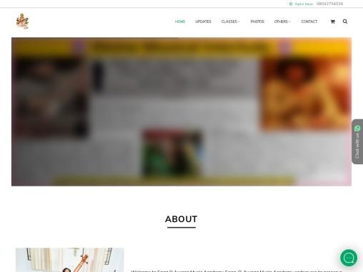 Saaz O Awaaz Music Academy in bangalore