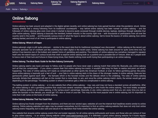 Online Sabong,Online Sabong International   sabongarenas.com