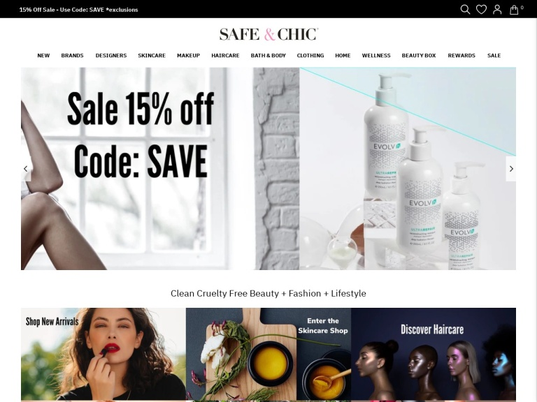 Safe & Chic screenshot