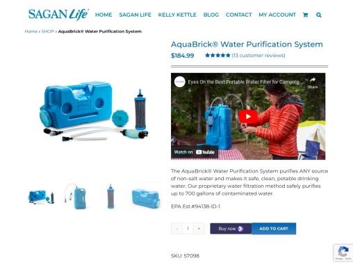 AquaBrick™ Water Purification System