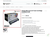 Printer 85A LaserJet Toner Cartridge (CE285A) in BD